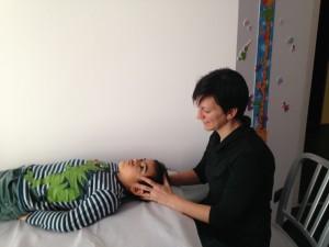 trattamento osteopatico nell'infanzia